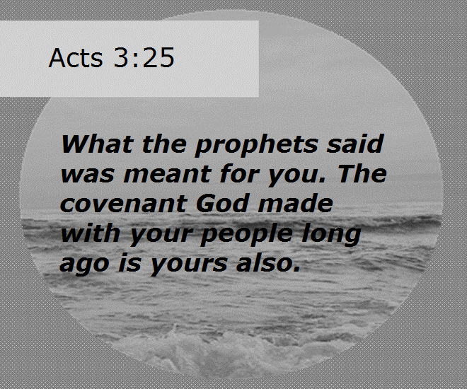 Acts 3.25