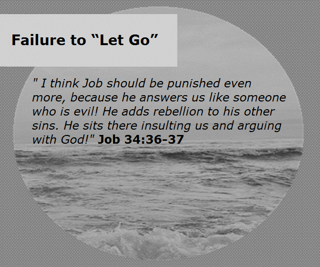 failure to let go